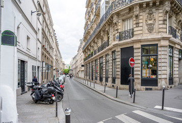 Froissart street in Paris