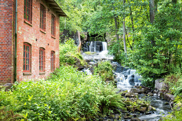 Grebban's Mill in summer scenery