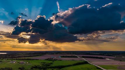 Nebraska rural countryside landscape