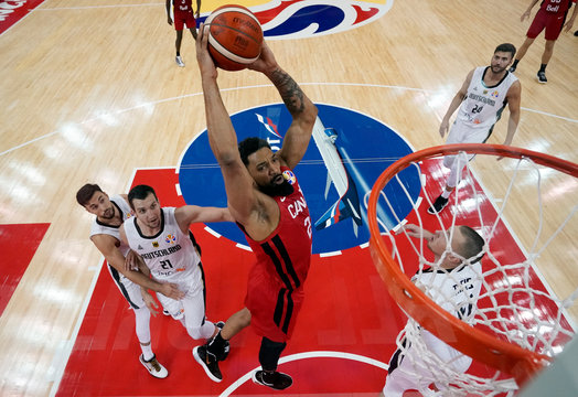 Basketball - FIBA World Cup - Classification Round 17-32 - Group P - Germany v Canada