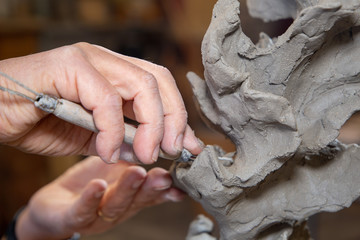 marble and ceramic sculptor Italian artists