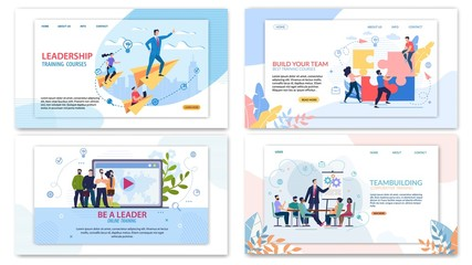 Advertising Poster Corporate Training Teambuilding