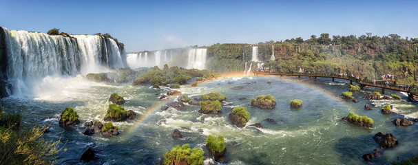 Canvas Prints Brazil Iguazu Falls, Brazilian Side