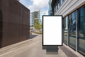 Blank street billboard poster Fotomurales