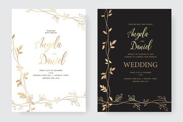 wedding gold branch