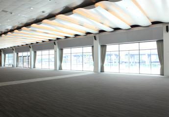 meeting room or inside room empty
