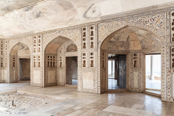 Gorgeous view of the Diwan-i-Khas at the Agra Fort, India Fototapete