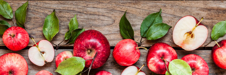 Red Apples, banner
