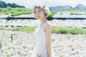 金髪の花嫁