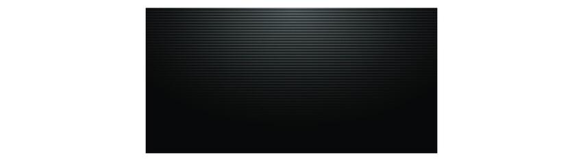 Modern dark black striped background. Vector texture