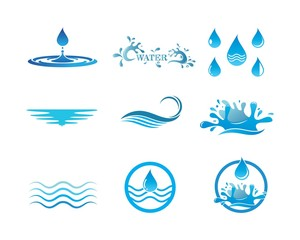 water  Logo Template vector illustration