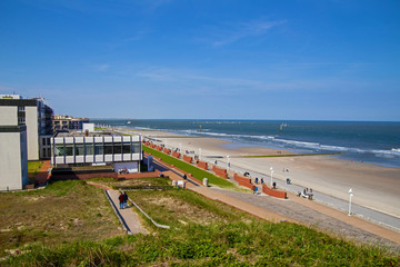 Norderney Insel Strand Panorama