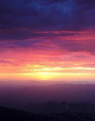 A Sunset from Atop Kitt Peak, Tucson, AZ, USA