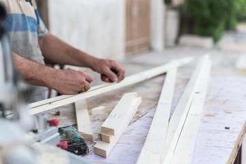 Carpenter craft workshop