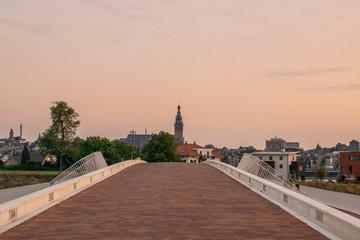 Veur Lent in Nijmegen during sunset
