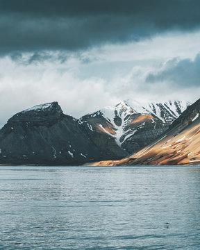 arctic fjord
