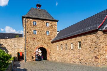 Das Orchheimer Tor in der Stadtmauer von Bad Münstereifel
