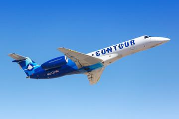 Contour Airlines Embraer ERJ 135 airplane