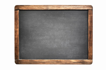 Foto op Canvas Retro blackboard isolated on white background