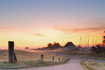 Sonnenaufgang auf der Insel Hiddensee