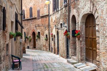 Certaldo, medieval city in Tuscany
