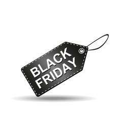 Black Friday Label Vector Illustration