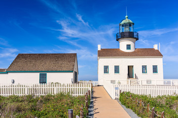 San Diego, California at the Old Loma Point