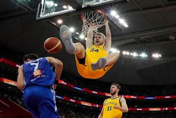 Basketball - FIBA World Cup - Quarter Finals - Australia v Czech Republic