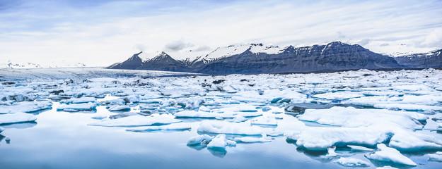 Jökulsárlon glacier lake in the south of iceland 1