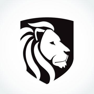 lion shield heraldry symbol