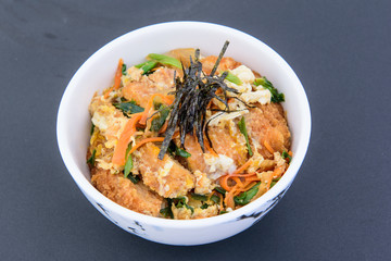 Photos of delicious Japanese food Suitable for making menus in restaurants.