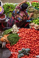 Chichicastenango, covered market, Guatemala