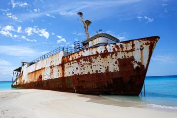 Acrylic Prints Shipwreck old ship