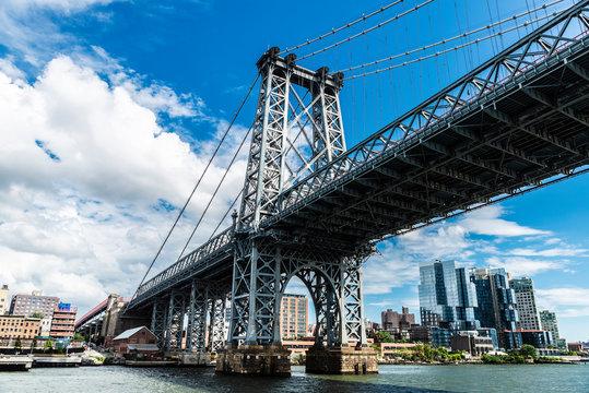 Williamsburg Bridge in New York City, USA