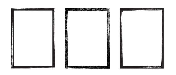 Fototapeta Grunge frame - stock vector.