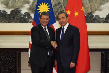 Malaysian Foreign Minister Dato' Saifuddin Abdullah Visits China