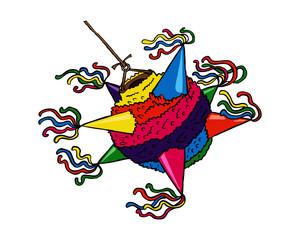 Mexican Christmas piñata