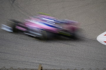 Bahrain International Circuit racing cars
