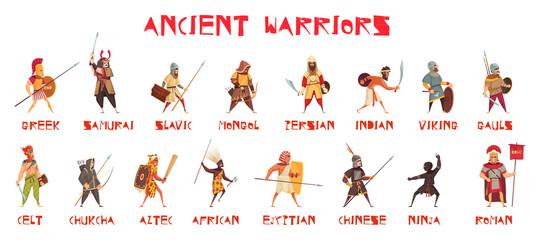 Ancient Warriors Set