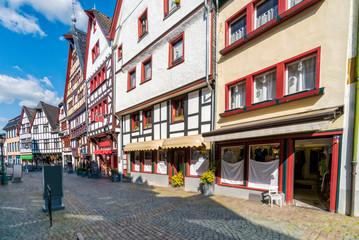 Einkaufsstraße im malerischen Bad Münstereifel