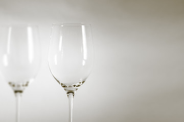 wineglass detail black and white