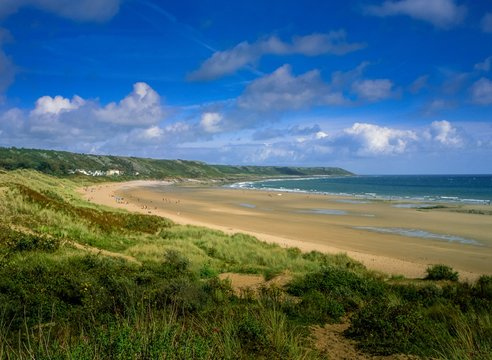 Port Eynon Beach, Gower, Wales, UK