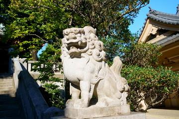 待乳山聖天の狛犬