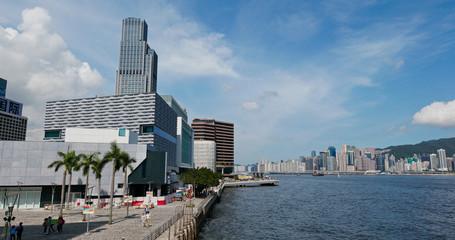 Fotomurales - Hong Kong cityscape