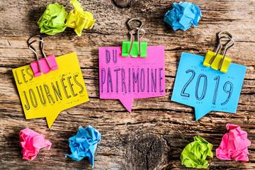 post-it : Journées du patrimoine 2019
