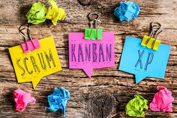 méthode AGILE : scrum kanban xp