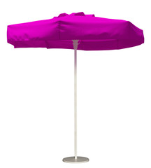 Beach umbrella - pink
