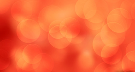 Wall Mural - Red abstract background blur with bokeh,holiday wallpaper