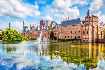 Fotomurales - Dutch parliament of The Hague, The Netherlands.