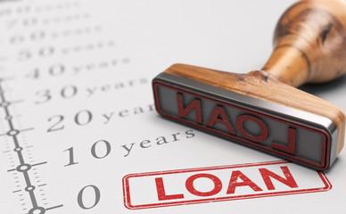 Term loan, Long-term repayment period.